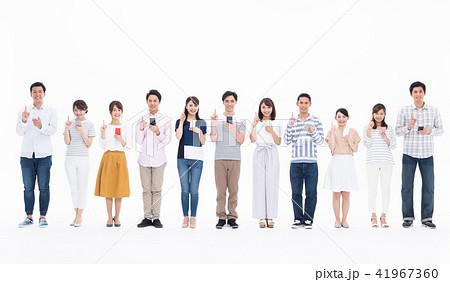若い人々(スマホ) 41967360