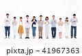 スマホ 人々 携帯の写真 41967363