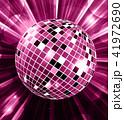 ディスコ ボール 玉のイラスト 41972690