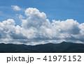雲 夏雲 湧き上がるの写真 41975152