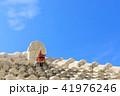 沖繩_屋根のシーサー 41976246