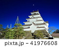 鶴ヶ城冬景色夜景(荒城の月) 41976608
