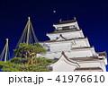 鶴ヶ城冬景色夜景(荒城の月) 41976610