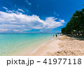 フィリピン・ボラカイ島のビーチと青空 41977118