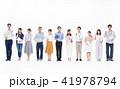 ビジネス タブレット 人物の写真 41978794
