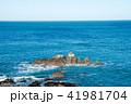 岩場 海 海岸の写真 41981704