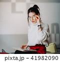 女 女の人 女性の写真 41982090