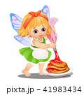ベクトル エルフ ファンタジーのイラスト 41983434
