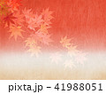 背景 和柄 紅葉のイラスト 41988051