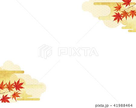 和-背景-秋-紅葉 41988464