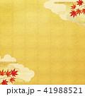 背景 紅葉 和のイラスト 41988521