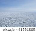 流氷 冬 風景の写真 41991885