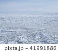 流氷 冬 風景の写真 41991886