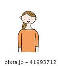 若い 女性 ベクターのイラスト 41993712