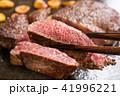 ステーキ カットステーキ 肉料理の写真 41996221