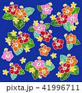 花 花柄 ハイビスカスのイラスト 41996711