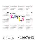 2019 カレンダー 暦のイラスト 41997043