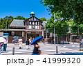 《東京都》原宿駅・下車する人々 41999320