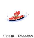 ベクトル うきわ 浮き輪のイラスト 42000609