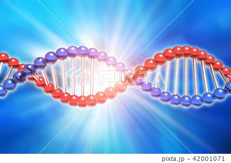 DNA genetic research science concept 42001071