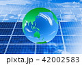 エコイメージ_メガソーラーと緑の地球 42002583