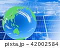 エコイメージ_メガソーラーと緑の地球 42002584