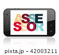 Insurance concept: Smartphone with Assessor on  display 42003211
