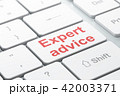 Law concept: Expert Advice on computer keyboard background 42003371