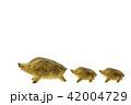 亥年 年賀素材〜親子のイノシシ 42004729