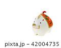 亥年 年賀素材〜イノシシの置物 42004735