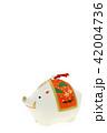 亥年 年賀素材〜イノシシの置物 42004736