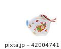 亥年 年賀素材〜イノシシの置物 42004741