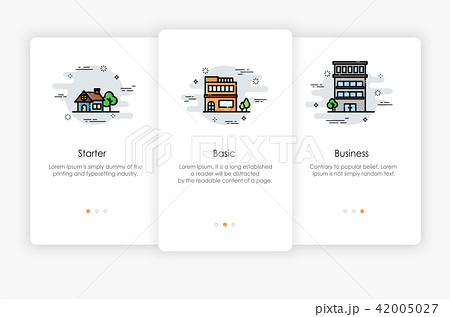 Onboarding screens design in Level concept 42005027