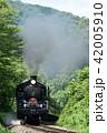 SL 鉄道 蒸気機関車の写真 42005910