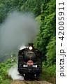 SL 鉄道 蒸気機関車の写真 42005911