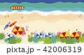 海岸 浜 海辺のイラスト 42006319