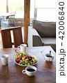 Fruit breakfast food at summer vacation hotel 42006840