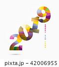 2019 アート カレンダーのイラスト 42006955