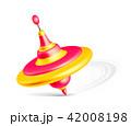 Whirligig toy isolated on white background 42008198