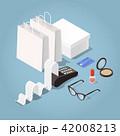 ベクトル ショッピング カードのイラスト 42008213
