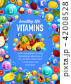 ビタミン フルーツ 果実のイラスト 42008528