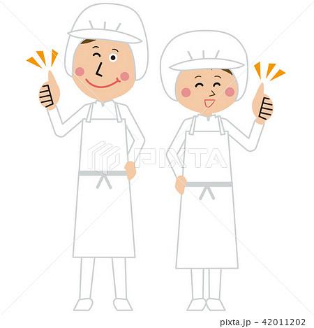 給食職員or食品工場の男女が「いいね!」 42011202