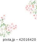 花 フラワー お花のイラスト 42016420