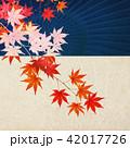 紅葉 秋 和柄のイラスト 42017726