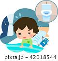 トイレ 子供 夜中のイラスト 42018544