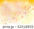 背景 紅葉 輝きのイラスト 42018859