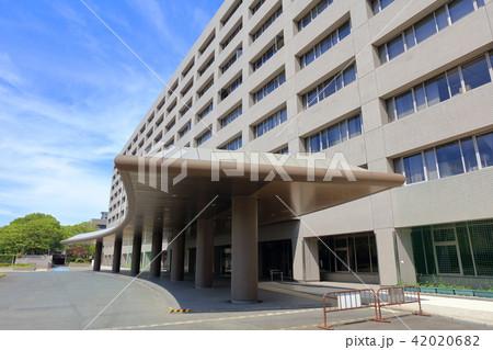 福岡県庁 福岡市東区の街並み 42020682