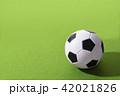 サッカーボール ボール サッカーの写真 42021826