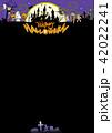 ハロウィン背景素材 42022241