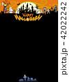 ハロウィン背景素材 42022242